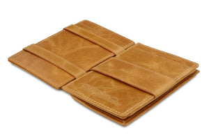Essenziale Magic Coin Wallet Brushed - Brushed Cognac - 3