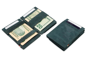 Magic Coin Wallet Garzini Essenziale - Carbon Black - 4
