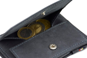 Magic Coin Wallet Garzini Essenziale - Carbon Black - 5