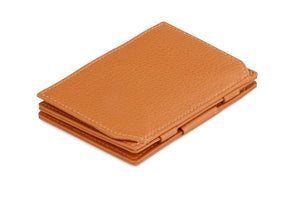 Magic Coin Wallet Garzini Essenziale Nappa - Cognac Brown - 1