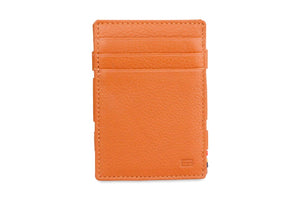 Magic Coin Wallet Garzini Essenziale Nappa - Cognac Brown - 2