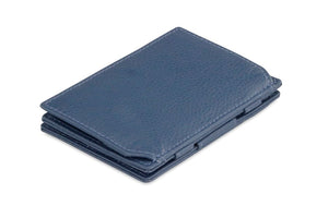 Magic Coin Wallet Garzini Essenziale Nappa - Navy Blue - 1