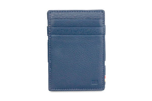 Magic Coin Wallet Garzini Essenziale Nappa - Navy Blue - 2