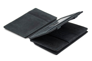 Magic Coin Wallet Garzini Magistrale - Carbon Black - 3