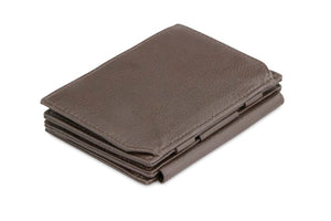 Magistrale Magic Coin Wallet Nappa - Chocolate Brown - 1