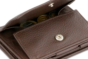 Magistrale Magic Coin Wallet Nappa - Chocolate Brown - 5
