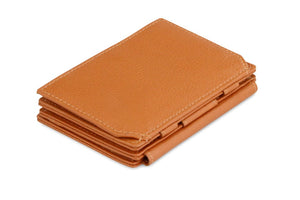 Magistrale Magic Coin Wallet Nappa - Cognac Brown - 1