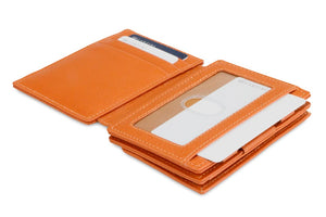 Magistrale Magic Coin Wallet Nappa - Cognac Brown - 4