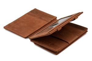 Magic Coin Wallet Garzini Magistrale - Java Brown - 3