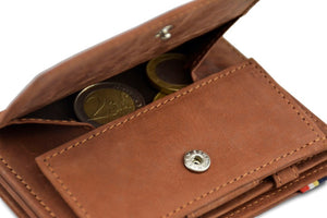 Magic Coin Wallet Garzini Magistrale - Java Brown - 5