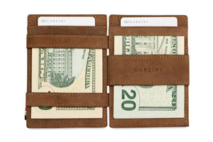 Magic Coin Wallet Garzini Magistrale - Java Brown - 7