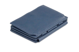 Magistrale Magic Coin Wallet Nappa - Navy Blue - 1