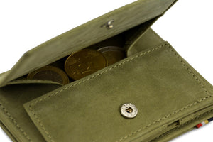 Magic Coin Wallet Garzini Magistrale - Olive Green - 5
