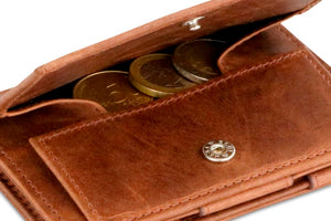 Cavare Magic Coin Wallet Card Sleeve Brushed - Brushed Brown - 5