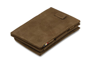 Cavare Magic Coin Wallet Card Sleeve Vintage - Java Brown - 1