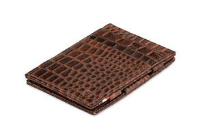 Essenziale Magic Wallet Croco - Croco Brown - 1