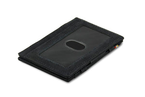 Magic Wallet Garzini Essenziale ID Window - Carbon Black - 1