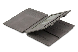 Magic Wallet Garzini Magistrale - Metal Grey - 3