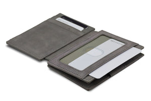 Magic Wallet Garzini Magistrale - Metal Grey - 4