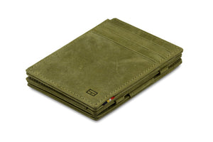 Magic Wallet Garzini Magistrale - Olive Green - 1