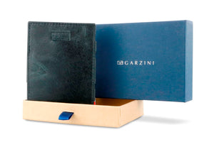 Cavare Magic Wallet Card Sleeves Brushed - Brushed Black - 8