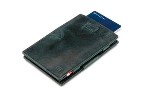 Cavare Magic Wallet Card Sleeves Brushed - Brushed Black - 7