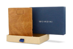 Cavare Magic Wallet Card Sleeves Brushed - Brushed Cognac - 8