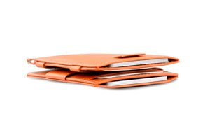 Cavare Magic Wallet Card Sleeves Nappa - Cognac Brown - 6