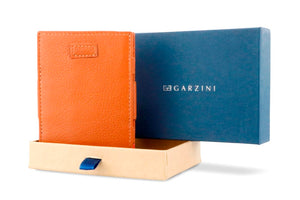 Cavare Magic Wallet Card Sleeves Nappa - Cognac Brown - 9