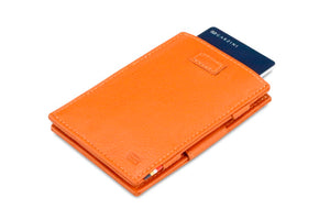 Cavare Magic Wallet Card Sleeves Nappa - Cognac Brown - 7