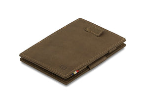 Cavare Magic Wallet Card Sleeves Vintage - Java Brown - 1