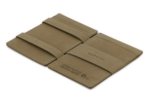 Cavare Magic Wallet Card Sleeves Vintage - Metal Grey - 2