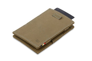 Cavare Magic Wallet Card Sleeves Vintage - Metal Grey - 6