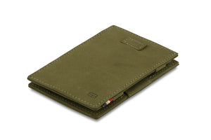 Cavare Magic Wallet Card Sleeves Vintage - Olive Green - 1