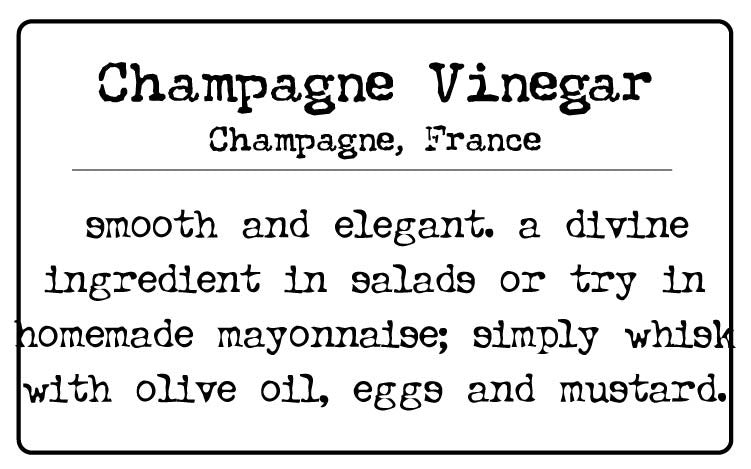 Champagne Wine Vinegar (France)