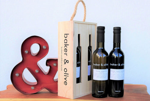 February Pairing - Vermont Maple Balsamic & Roasted Walnut Oil