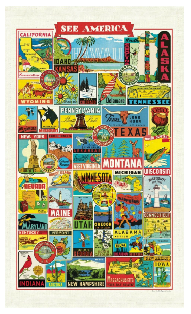 Tea Towel - See America