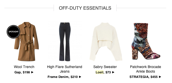 The Zoe Report picks the one of statement winter sweater