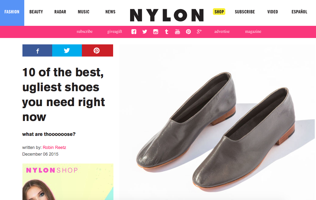 Ray Ankle Boots featured in #Nylon.  Get 'em while they last: http://bit.ly/1R50EIw