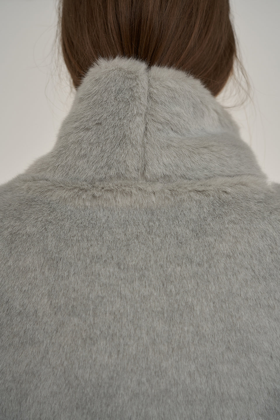 Frejus Fur Turtleneck