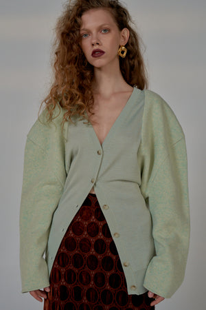 LUISA CARDIGAN MINT