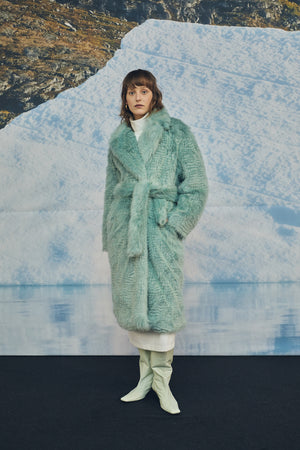 GHYSLAINE FAUX FUR COAT