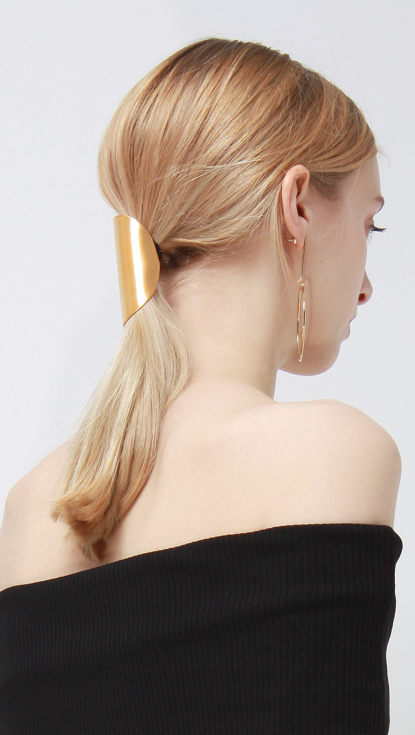 Barrette 044 in Gold.