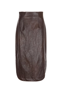 KASAVRA SKIRT BROWN