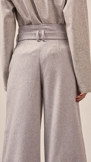 Lowell Belted Trouser
