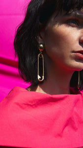 Luro Safety Pin Earring