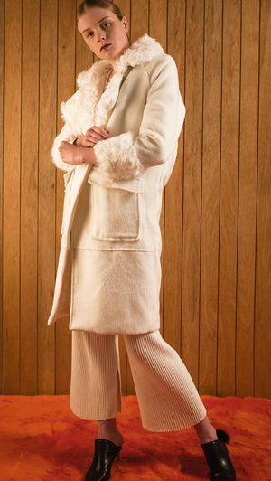 Margaret Shearling Coat