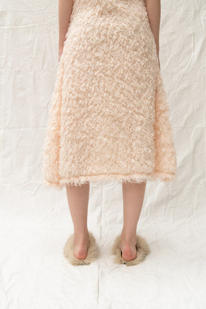 Addendum Fur Slip Dress