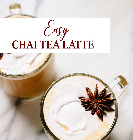Recept, Easy Chai Latte
