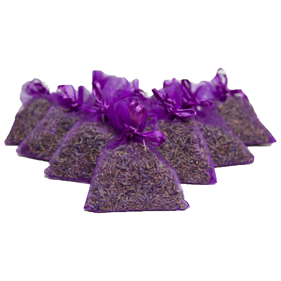 Lavender Fragrance Sachets - Purple